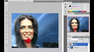 ADOBE PHOTOSHOP TEMEL 34-Manzara Resimleri İçine Portre Resim Yerleştirme