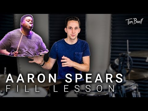 Aaron Spears | Fill Breakdown And Transcription