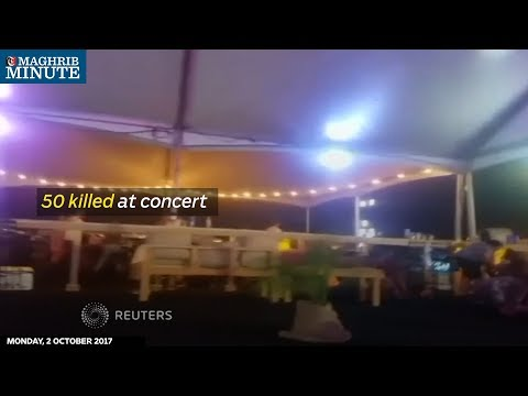 50 killed at Las Vegas concert