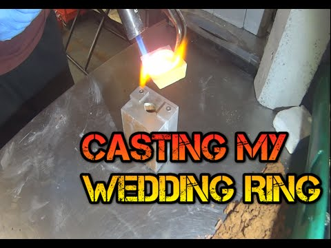 Fine Silver Casting: Making My Wedding Ring