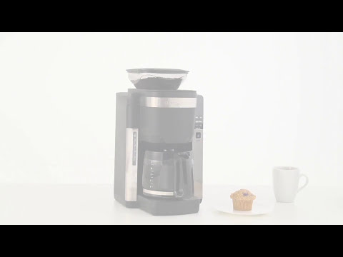 Hamilton Beach Coffee Maker with Automatic Grounds Dispenser (45400)