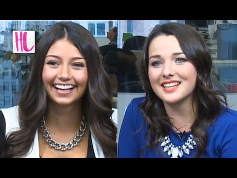 Degrassi's Fiona & Imogen On Their First Kiss EXCLUSIVE