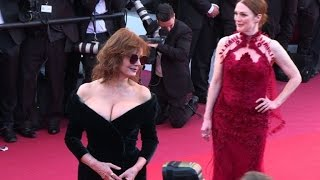 Video Cannes 2017 : jury walks red carpet at festival opening MP3, 3GP, MP4, WEBM, AVI, FLV Oktober 2017