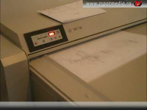 Masini de pliat documente format A0 - RIG801