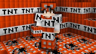 Minecraft UHC but you can craft MODDED ARMOR out of ANY block...