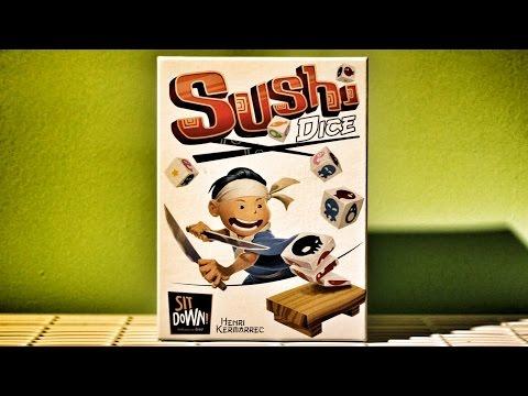 Sushi Dice - Würfelspiel Test - Spiel - Rezension #47
