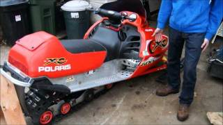 8. how to change a track on a snowmobile