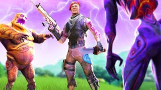 Trying out fortnite's horde rush