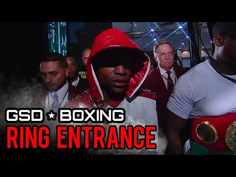 FLOYD MAYWEATHER RING ENTRANCE V MIGUEL COTTO