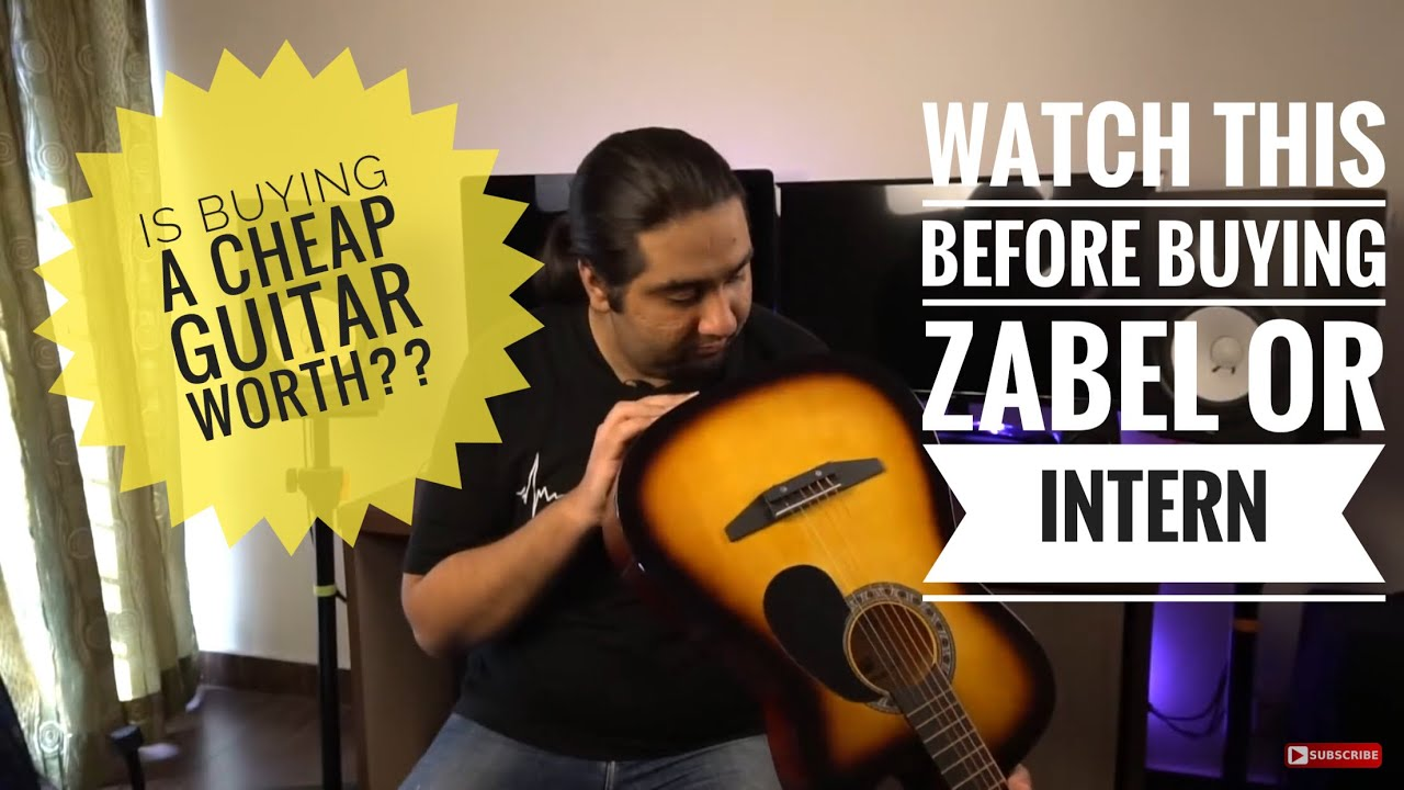 Juarez Acoustic  Guitar Review | Zabel Guitar Review | Which Guitar is more value for money??
