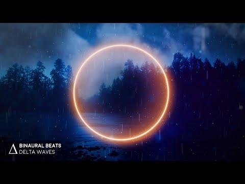 NO MORE Insomnia | DEEP Sleep Music with Relaxing Rain [3.0Hz Delta Waves] Binaural Beats