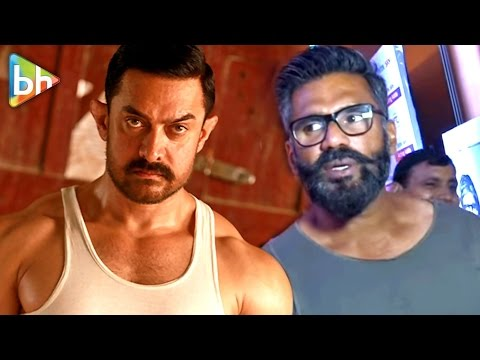 Video Suniel Shetty's Must Watch Response On Aamir Khan's Dangal Storm In China download in MP3, 3GP, MP4, WEBM, AVI, FLV January 2017