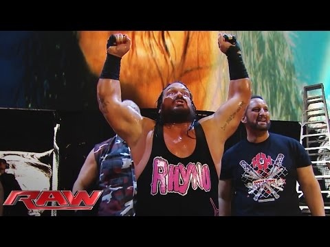 Rhyno returns to join the ECW Originals against The Wyatt Family: Raw, December 2, 2015