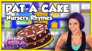 Pat a Cake, Nursery Rhymes with lyrics