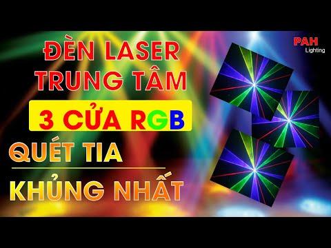 Đèn Laser Trung Tâm 3 Tia