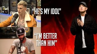 Video Celebrities Talk About Eminem (MGK, Joe Budden, Snoop Dogg, Logic & more!) MP3, 3GP, MP4, WEBM, AVI, FLV April 2019