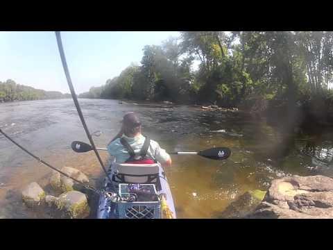 Kayak Fishing for James River Smallmouth Bass