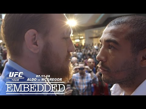 UFC 189 World Championship Tour Embedded: Vlog Series – Episode 8
