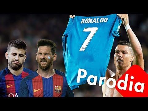"""PARÓDIA """"SUA CARA"""" - Cristiano Ronaldo humilha Messi ao som de Major Lazer, Anitta e Pablo Vittar"""
