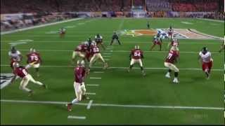 Menelik Watson vs Northern Illinois (2012 Bowl)