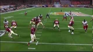 Menelik Watson vs Northern Illinois (2012 Bowl)