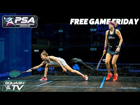 Squash: Gilis v Moverley - Free Game Friday - Open de Nantes 2018