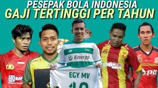 Video Pemain Sepak Bola Indonesia dengan gaji tertinggi per tahunya (pesebakbola Indonesia) MP3, 3GP, MP4, WEBM, AVI, FLV September 2018