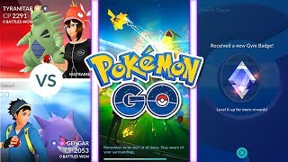 "SUBSCRIBE - https://www.youtube.com/user/ShireensPlayBUSINESS ENQUIRIES - ShireenPlays.Business@gmail.comThe Gym Update has officially been released in Pokemon GO, here is a quick preview!Pokemon GO - pokemongolive.com/en/Pokemon GO Twitter - https://twitter.com/pokemongoapp___FOLLOW ME:Twitter - https://twitter.com/ShireensPlayPlanet Minecraft page - http://www.planetminecraft.com/member/shireen_m/___Music:"" "" Kevin MacLeod (incompetech.com) Licensed under Creative Commons: By Attribution 3.0http://creativecommons.org/licenses/by/3.0/"