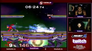 Versus Weekly – Westballz (Fox/Falco) vs DaShizWiz (Falco) Grand Finals
