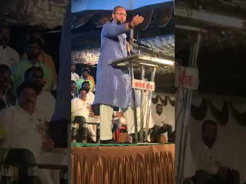 Video Asaduddin Owaisi Angry and firing speech (must watch) Beed Maharastra 24/06/2018 download in MP3, 3GP, MP4, WEBM, AVI, FLV January 2017
