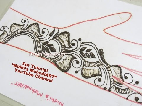 Video New Shaded Arabic Henna Mehndi ART Pattern Tutorial for Front Hand download in MP3, 3GP, MP4, WEBM, AVI, FLV January 2017