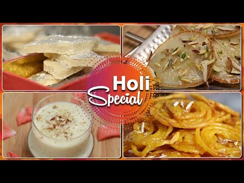 Holi Special Easy Recipes | Indian Sweets | Rajshri Food