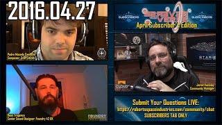 Ross Tregenza & Pedro Camacho: Live Stream Interview