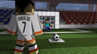Video Monster School: Penalty Shoots (ft. Cristiano Ronaldo) - Minecraft Animation MP3, 3GP, MP4, WEBM, AVI, FLV Agustus 2018