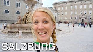 Salzburg Austria  City new picture : Salzburg fortress and Mozart - Austria roadtrip 01 | Travel Vlog