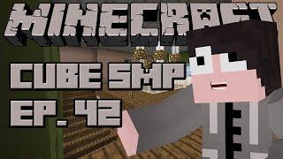 Minecraft: Cube SMP - Episode 42 - Upstairs Floor Plan! :D