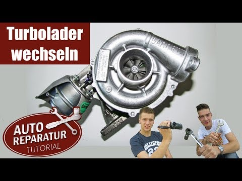 Turbolader wechseln ?! | BMW Turbo erneuern | turbocharger repair | ✖️Auto Tutorial