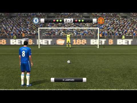 PES2011 - Chelsea V Man Utd Penalty