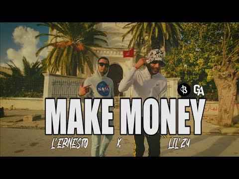 Lil zy X L'ernesto - Make Money ( clip officiel ) видео