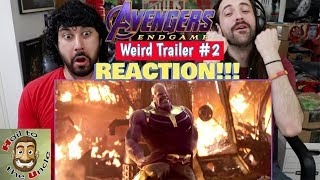 AVENGERS: ENDGAME Weird Trailer #2 | AVENGERS 4 PARODY by Aldo Jones - REACTION!!! by The Reel Rejects