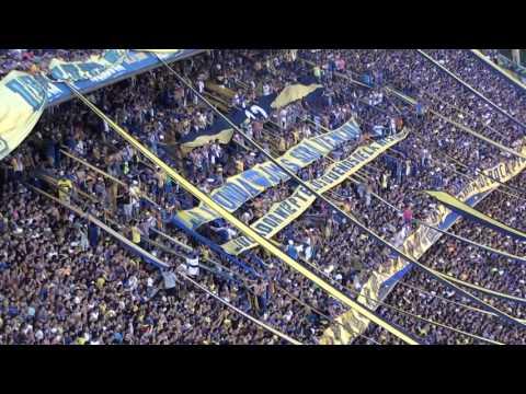 Boca Racing 2016 / El trapo de Di Carlo - La 12 - Boca Juniors