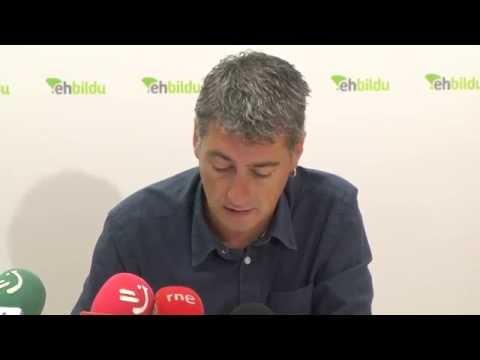 No es posible el acuerdo con quien niega los derechos de Euskal Herria