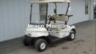 8. 2010 E-Z-GO RXV Gas Golf Cart