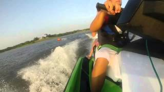 3. 2014 Sea Doo GTI SE 130 Pulling Tube