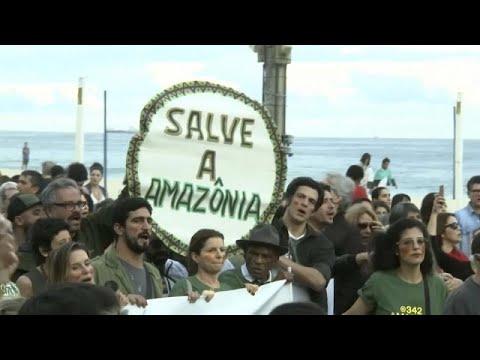 Βραζιλία: Διαδηλώσεις για την Αμαζονία στο Ρίο
