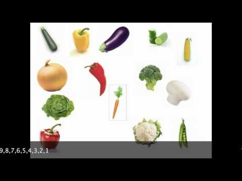 VEGETABLES - Learn English vocabulary. This video will teach you the English words for some of the basic vegetables. Learn more vegetable vocabulary at: http://istudyengl...