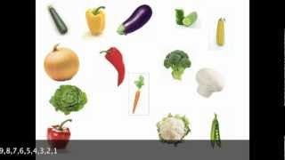 Vegetables, Learn English Vocabulary
