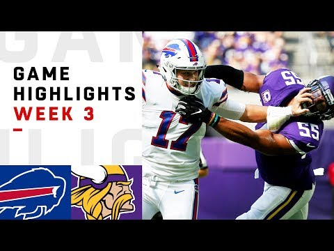 Bills vs. Vikings Week 3 Highlights | NFL 2018 - Thời lượng: 8:33.