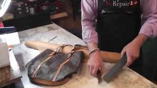 Louis Vuitton Handbag Repair - Replacing the lining on a Louis...
