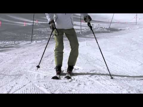 SKI - Harald demonstrates the huge differences between learning to ski, and what is required to become an expert parallel skier. Compared to how you learned to ski...